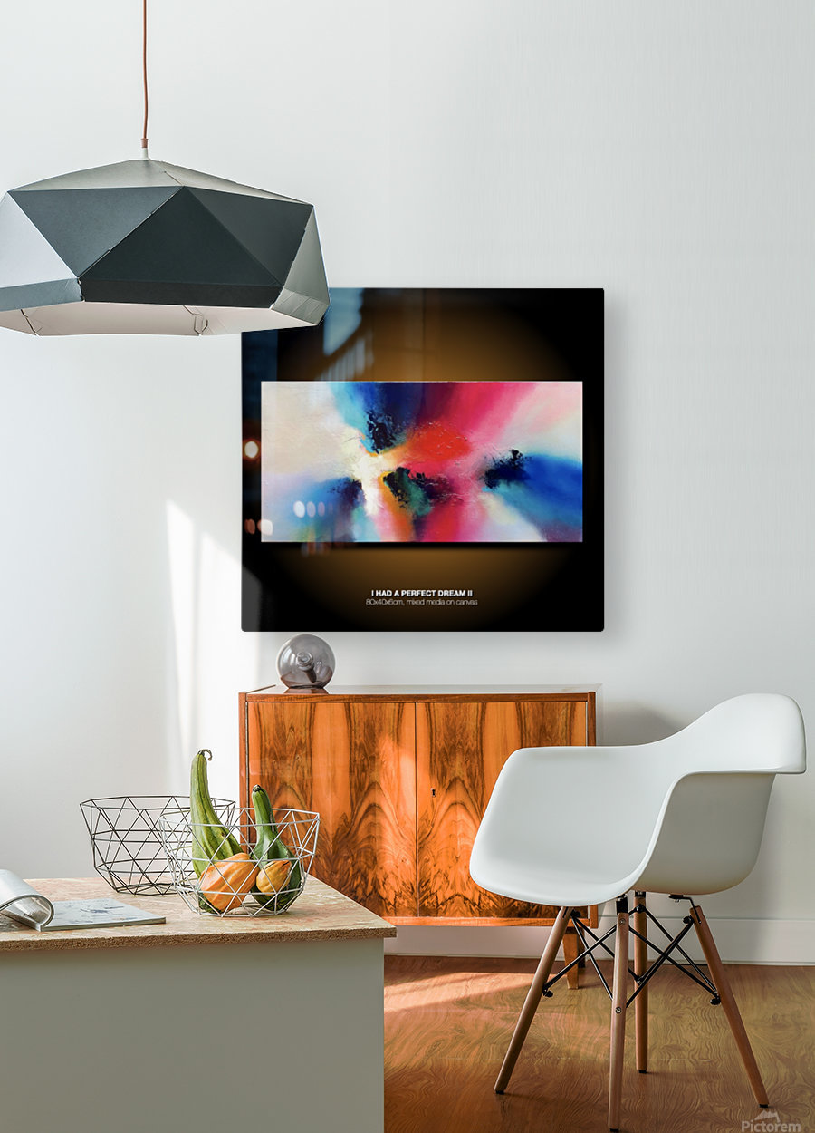 I had a perfect dream II site  HD Metal print with Floating Frame on Back