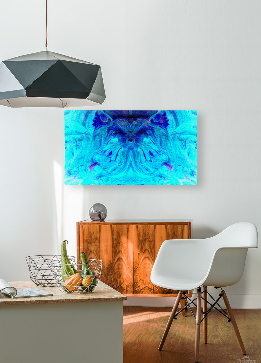 1550076120918  HD Metal print with Floating Frame on Back