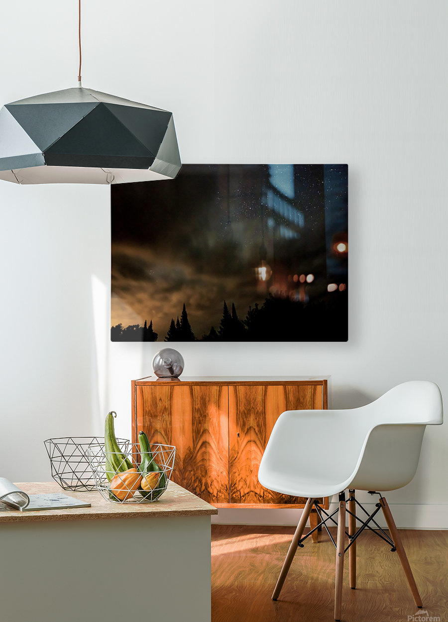 Portal  HD Metal print with Floating Frame on Back