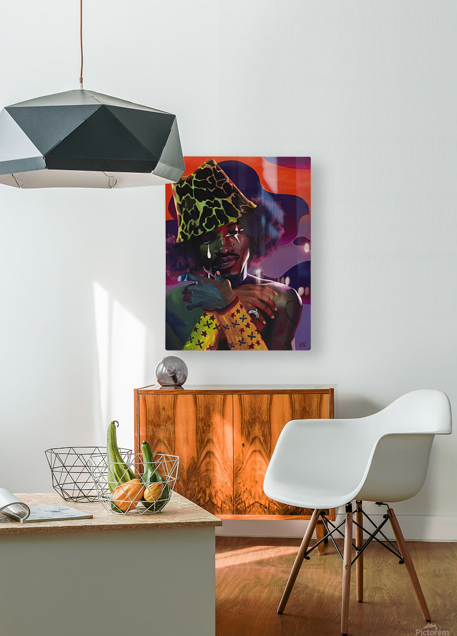 3000 AND BEYOND  HD Metal print with Floating Frame on Back
