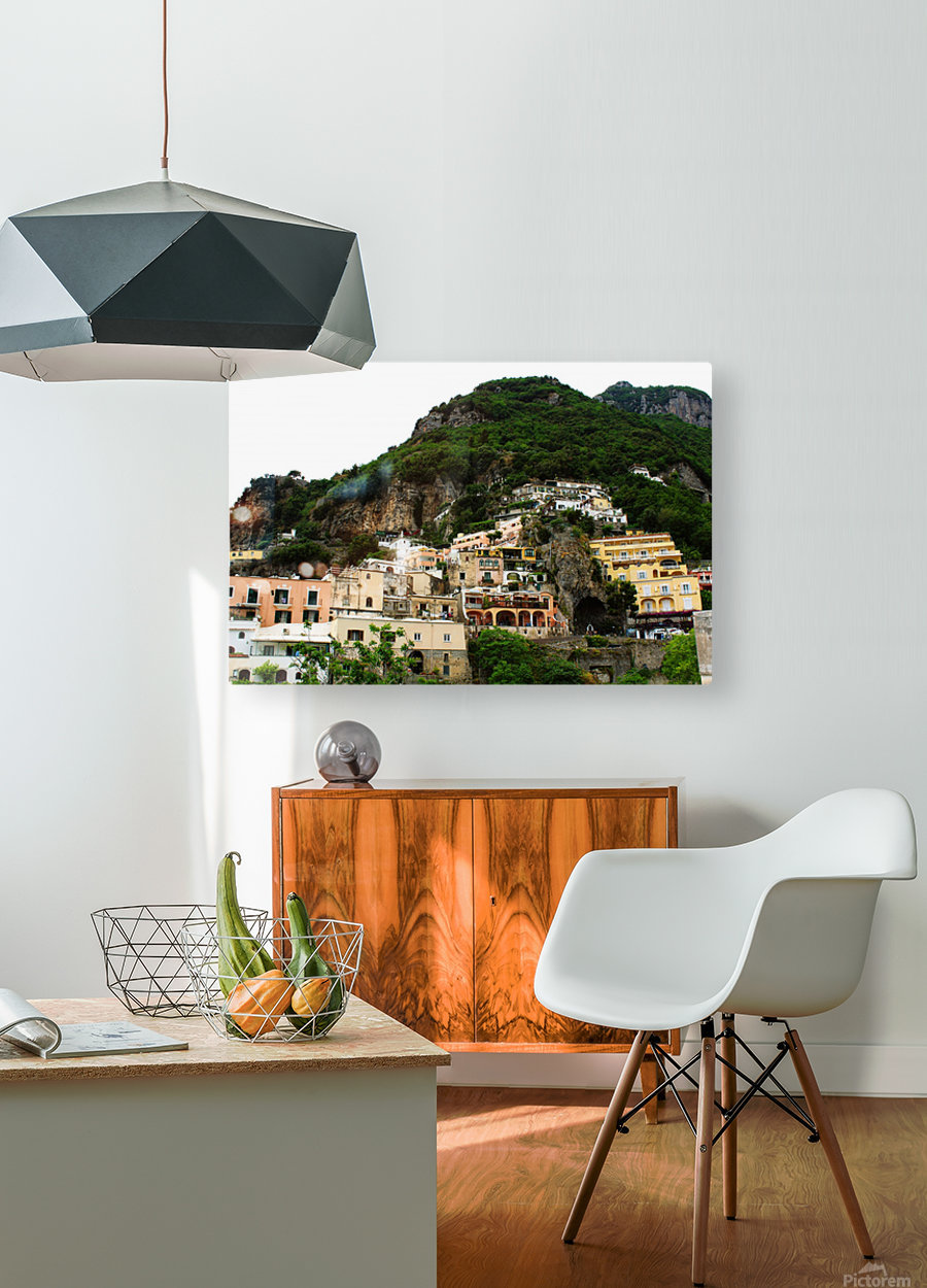 Landscape - Beautiful Village - Italy  HD Metal print with Floating Frame on Back