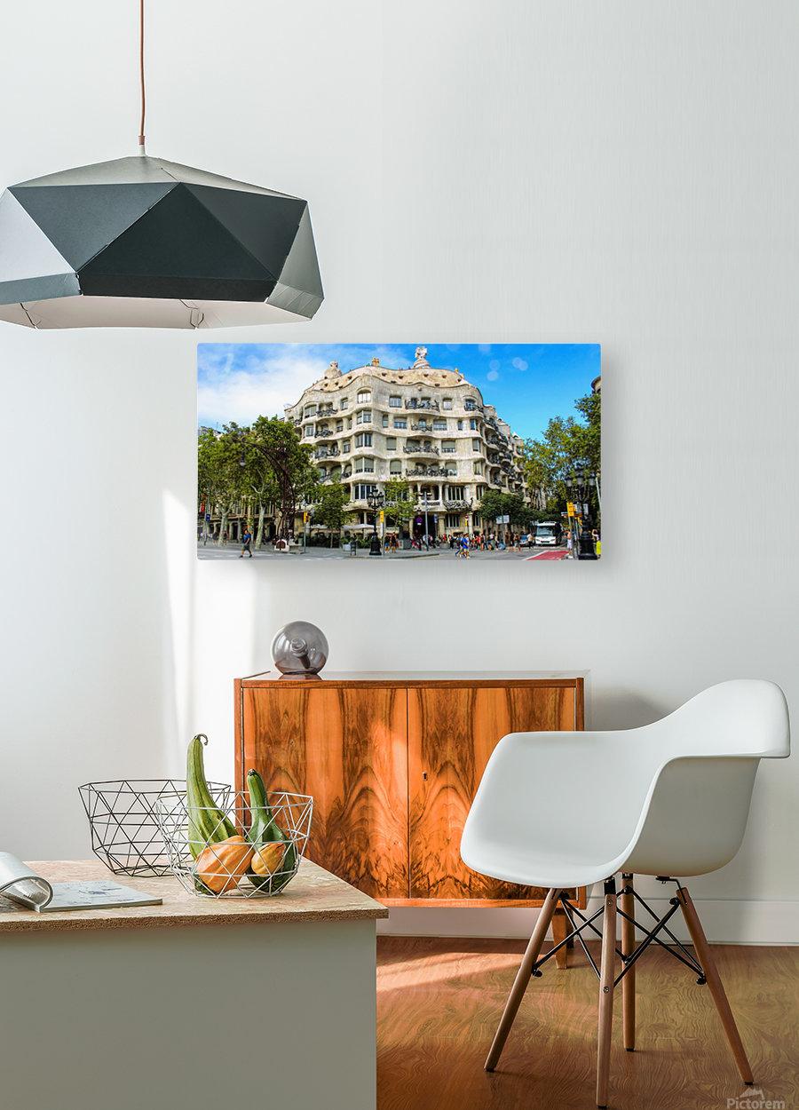Spain Landscape - Casa Battlo    HD Metal print with Floating Frame on Back