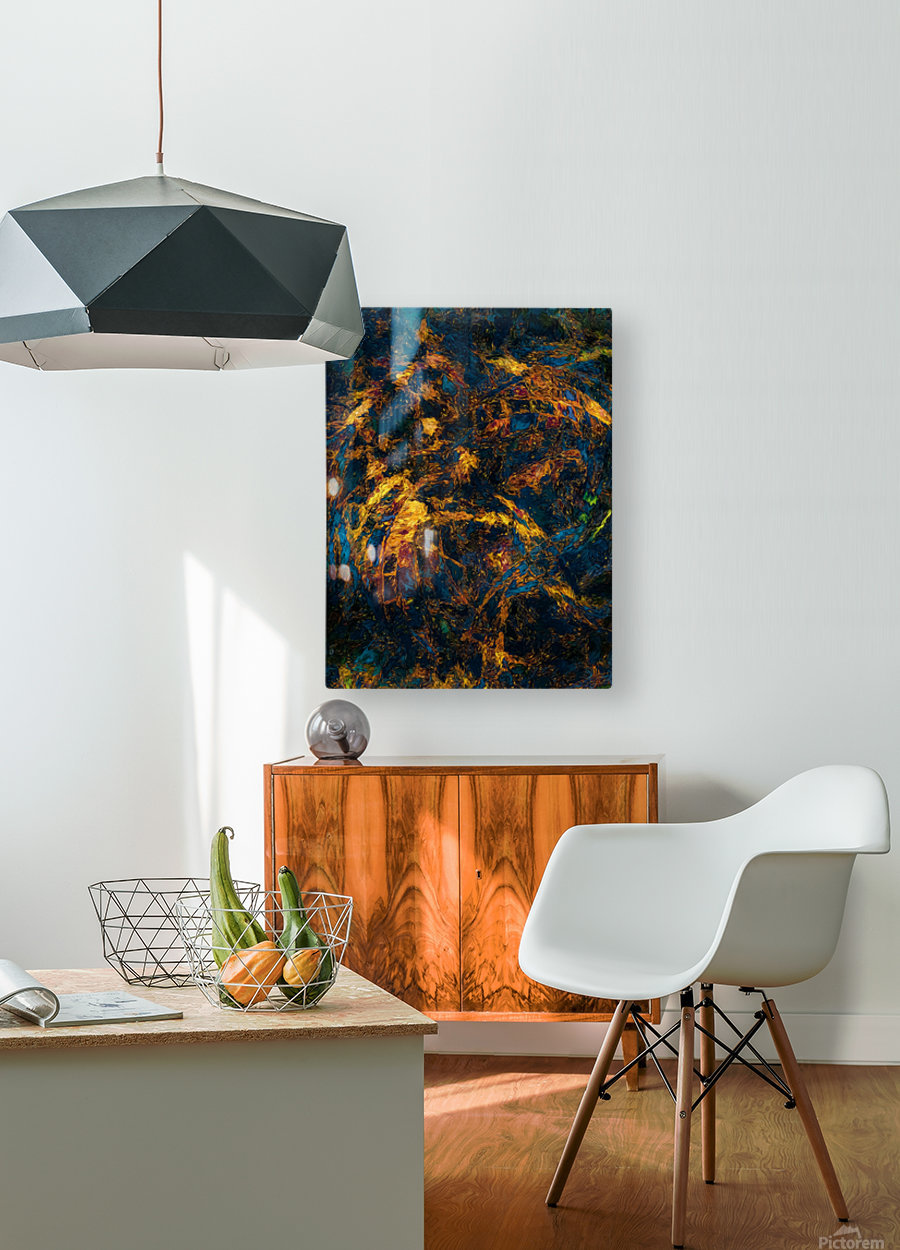 Chasm  HD Metal print with Floating Frame on Back