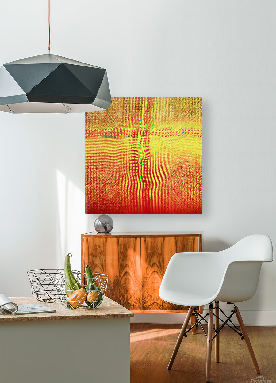 Crossroads  HD Metal print with Floating Frame on Back