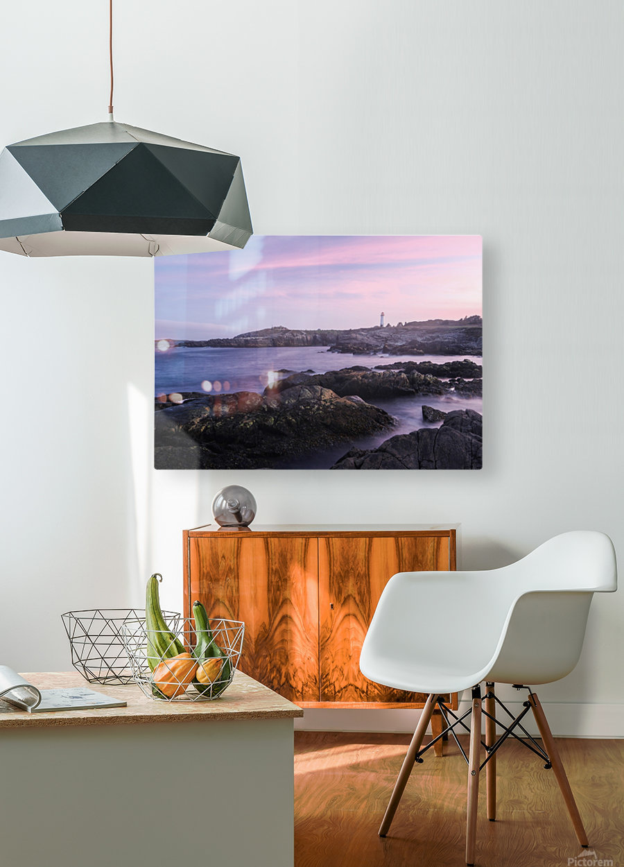 Beacons of lights  HD Metal print with Floating Frame on Back