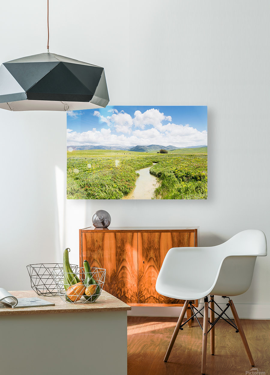 ANDALUSIA  HD Metal print with Floating Frame on Back
