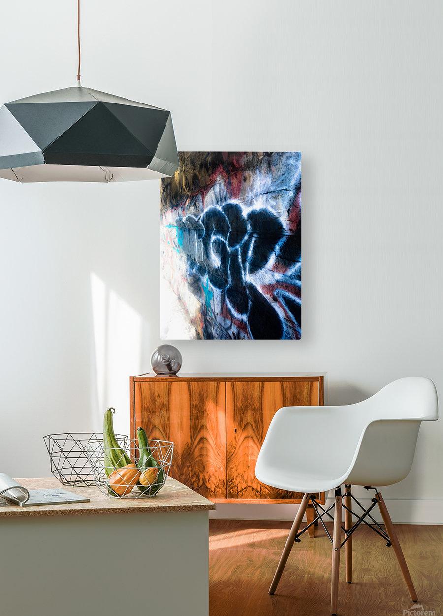 Create  Impression métal HD avec cadre flottant sur le dos