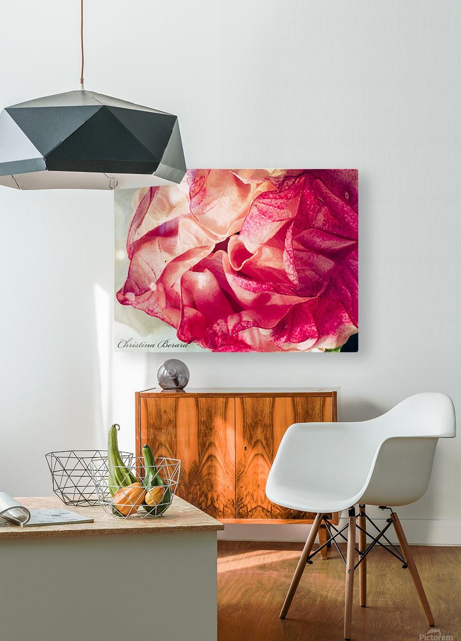 Self Love  Impression métal HD avec cadre flottant sur le dos