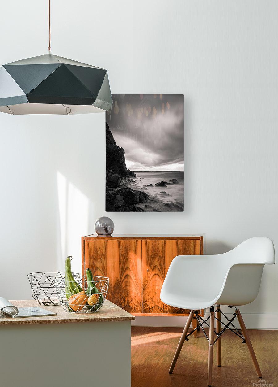 Sagara  HD Metal print with Floating Frame on Back