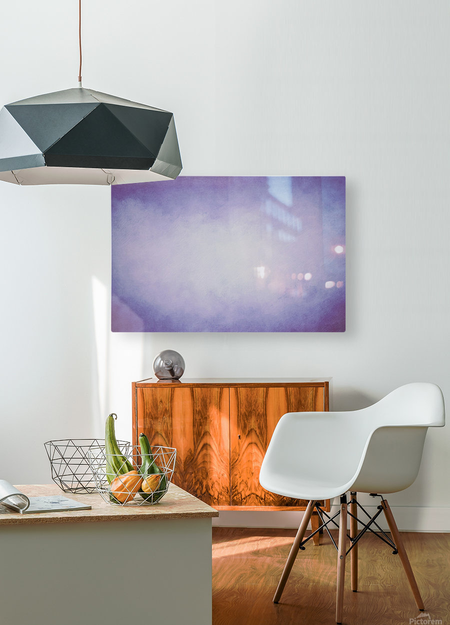 Lilac Mist  HD Metal print with Floating Frame on Back