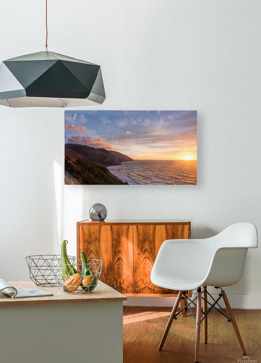 Sunshine Coast  HD Metal print with Floating Frame on Back