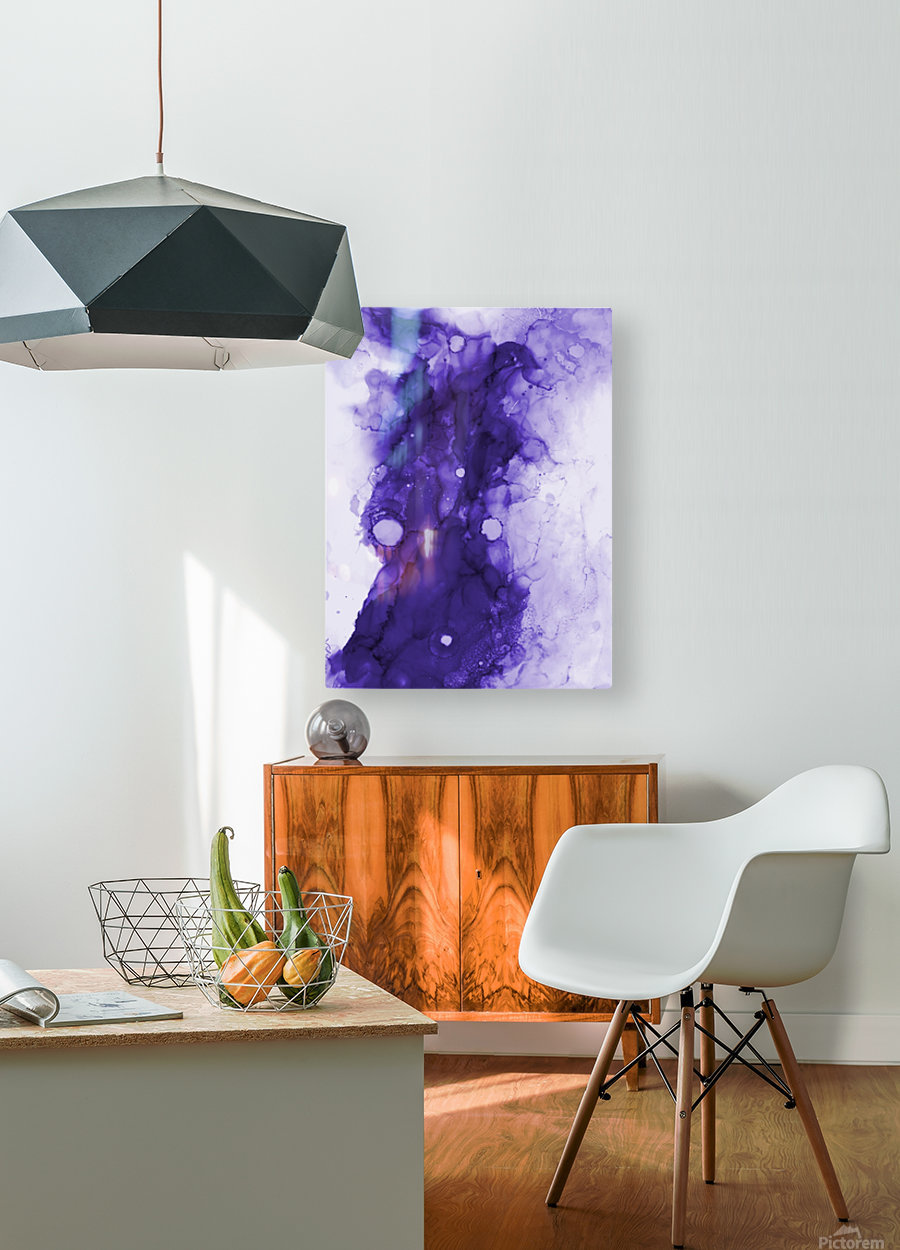 Traveler   HD Metal print with Floating Frame on Back