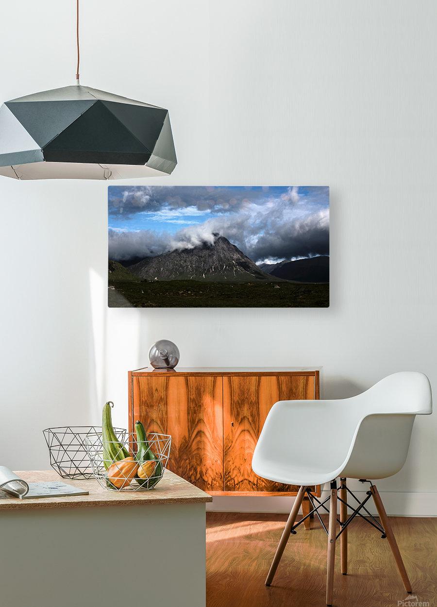 Glen Etive   HD Metal print with Floating Frame on Back