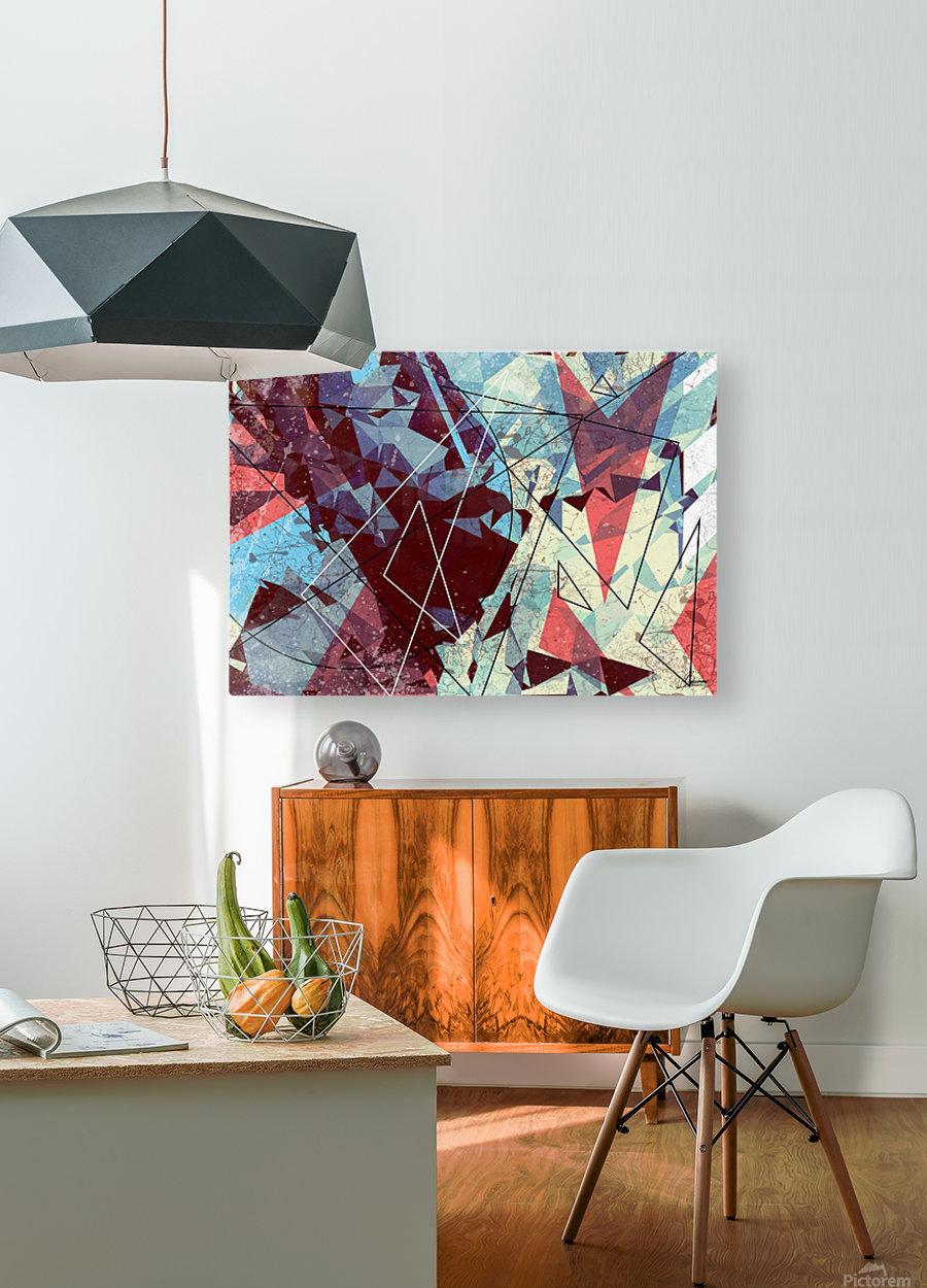 SAK29  HD Metal print with Floating Frame on Back