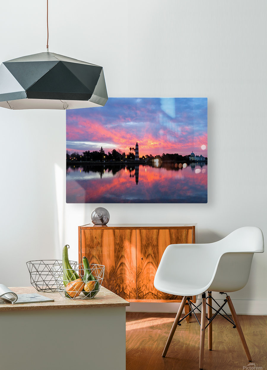 20190212 IMG_3241  HD Metal print with Floating Frame on Back