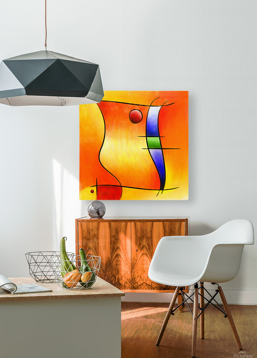 Seisnebota - the mouse that wanted to be a fish  HD Metal print with Floating Frame on Back