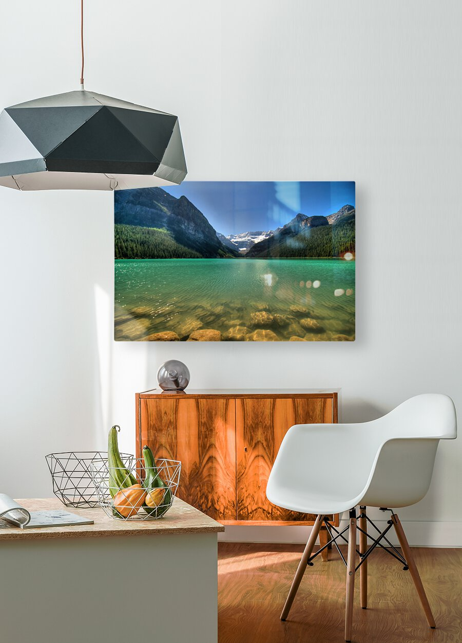 Banff  HD Metal print with Floating Frame on Back