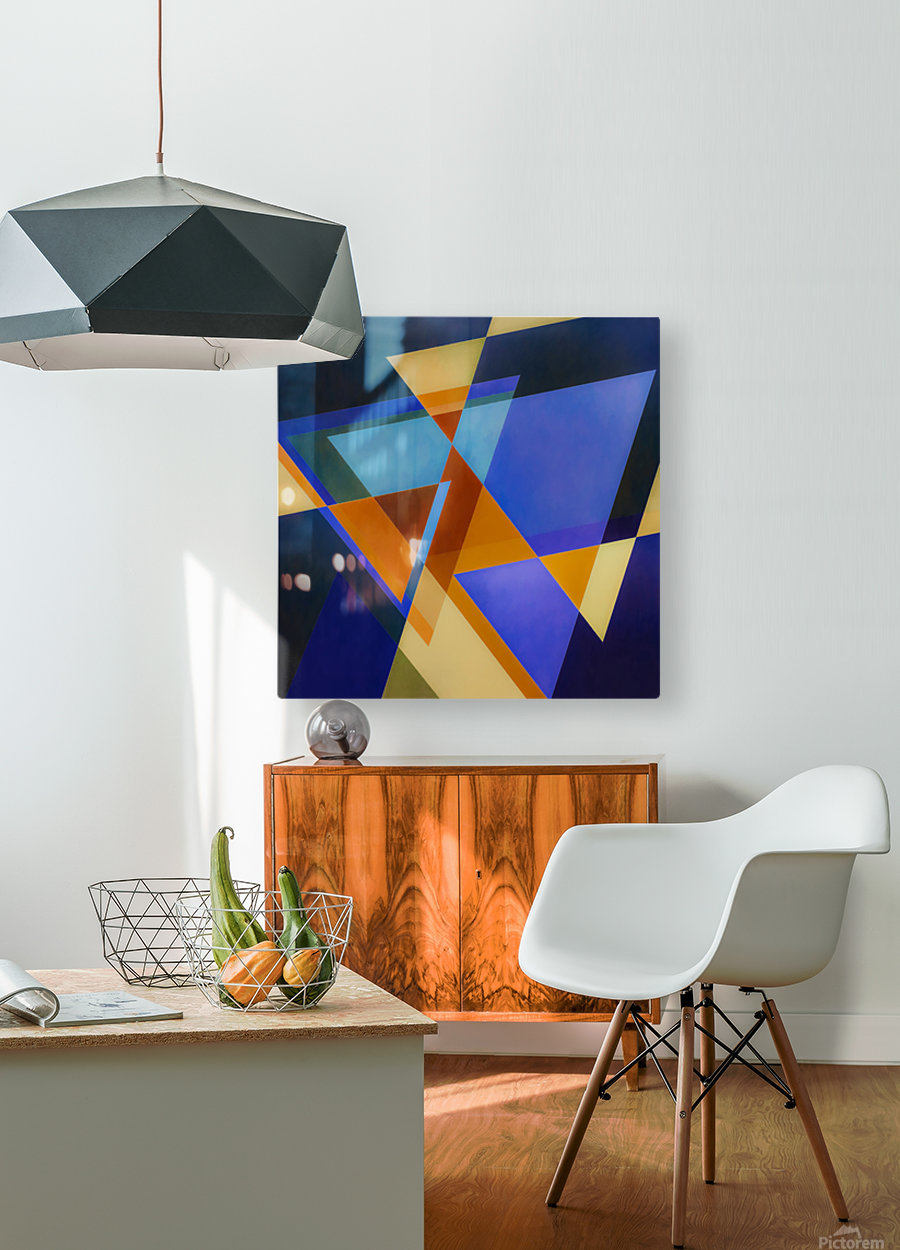 A Flight of Arrows  HD Metal print with Floating Frame on Back