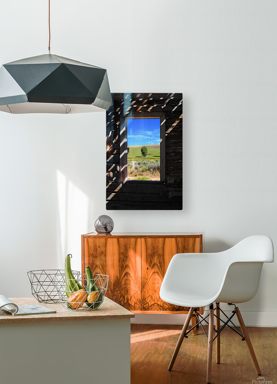 Wild Frontier  HD Metal print with Floating Frame on Back