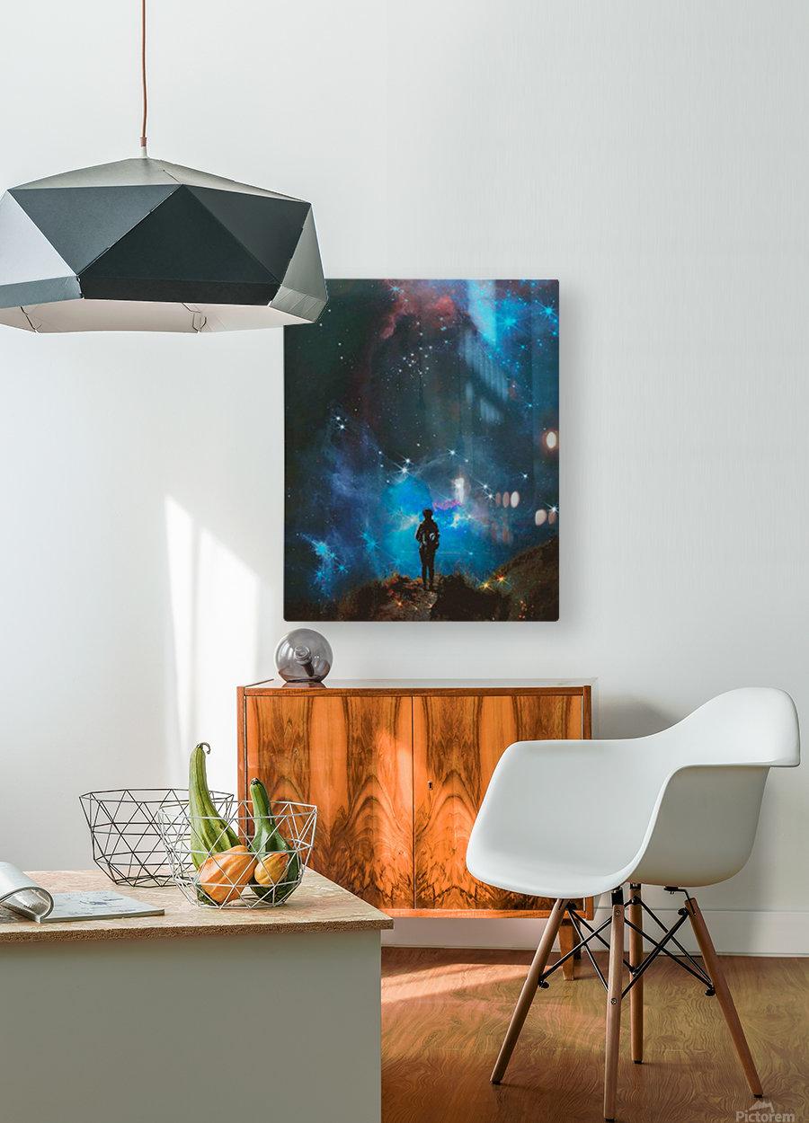 Alternate Universe  HD Metal print with Floating Frame on Back