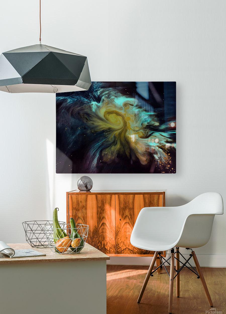 Fish   Impression métal HD avec cadre flottant sur le dos