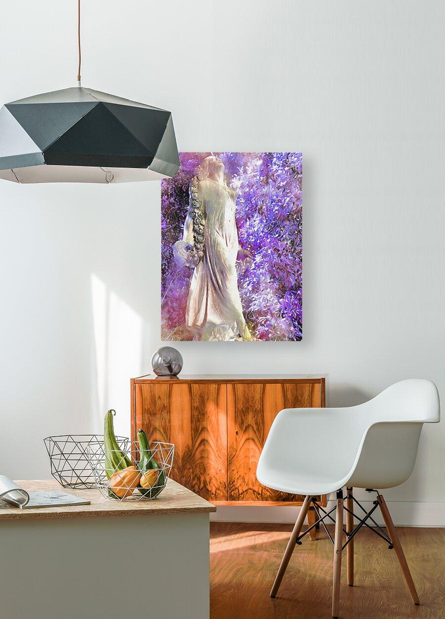 An Angel Awaits  HD Metal print with Floating Frame on Back
