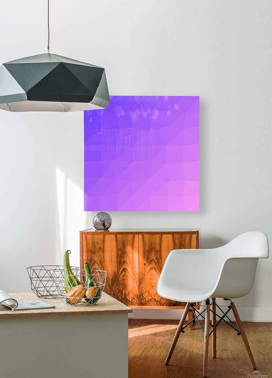 Abstract art patterns low poly polygon 3D backgrounds, textures, and vectors (14)  HD Metal print with Floating Frame on Back
