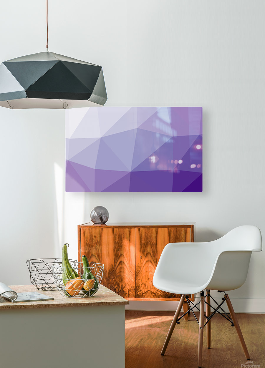 patterns polygon 3D (3)_1557106641  HD Metal print with Floating Frame on Back
