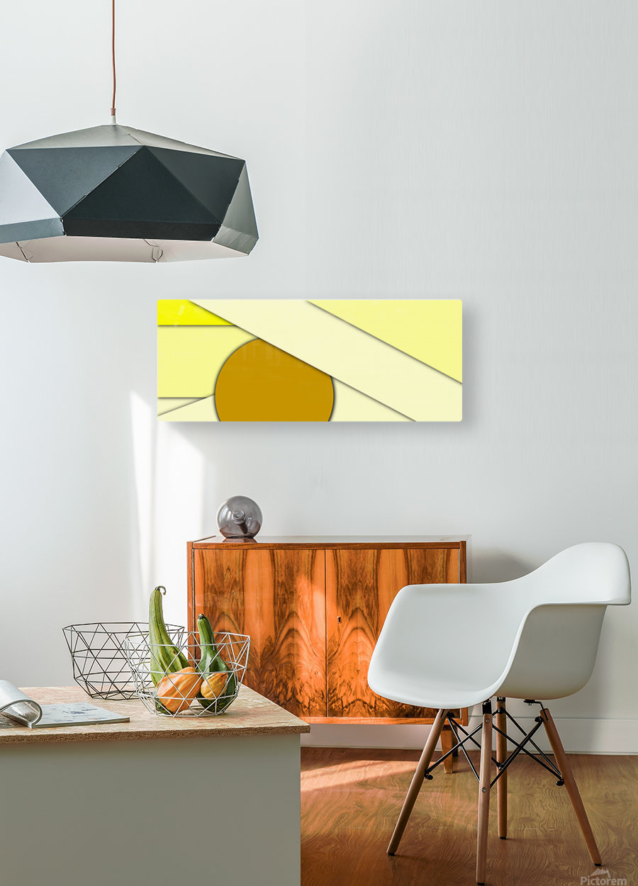cool abstract (9)  HD Metal print with Floating Frame on Back