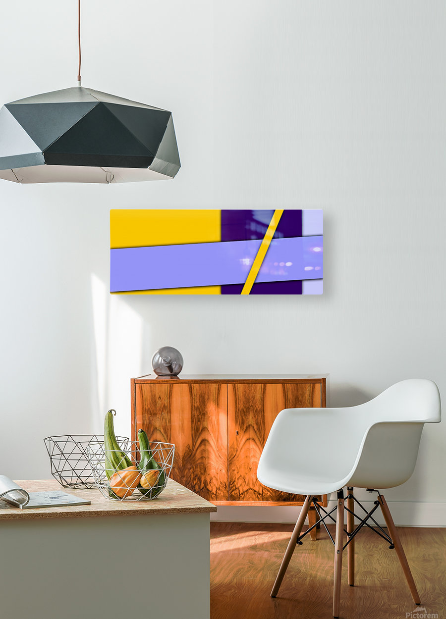 cool abstract (5)  HD Metal print with Floating Frame on Back