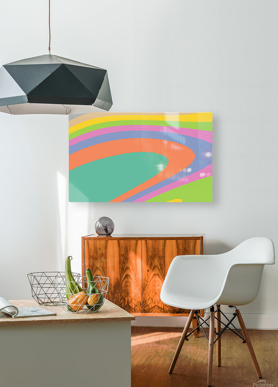 New Popular Beautiful Patterns Cool Design Best Abstract Art (18)  HD Metal print with Floating Frame on Back