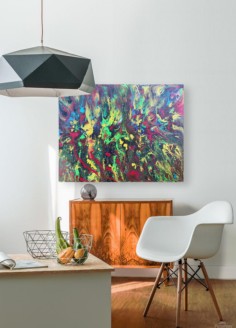 Ocean Predator  HD Metal print with Floating Frame on Back