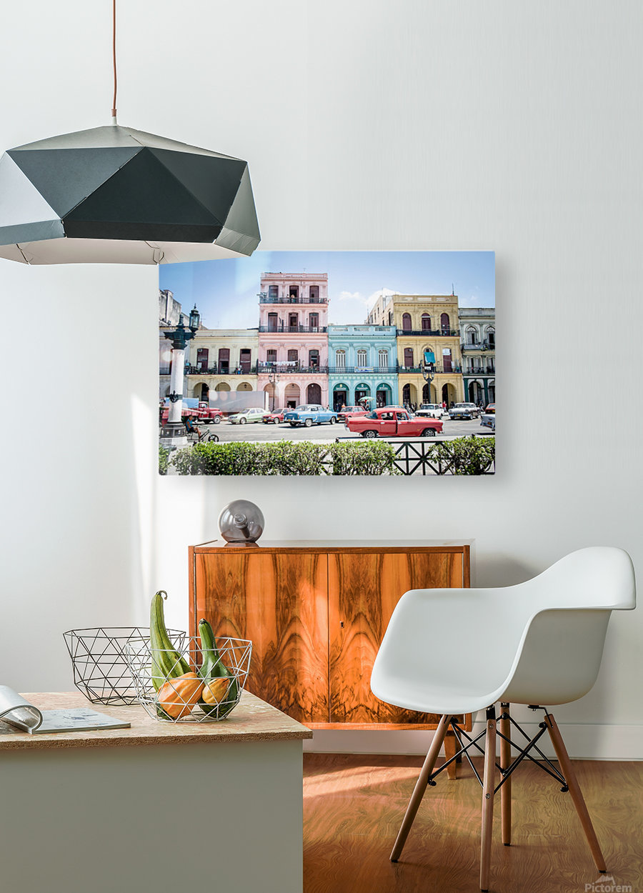 Cuba  HD Metal print with Floating Frame on Back