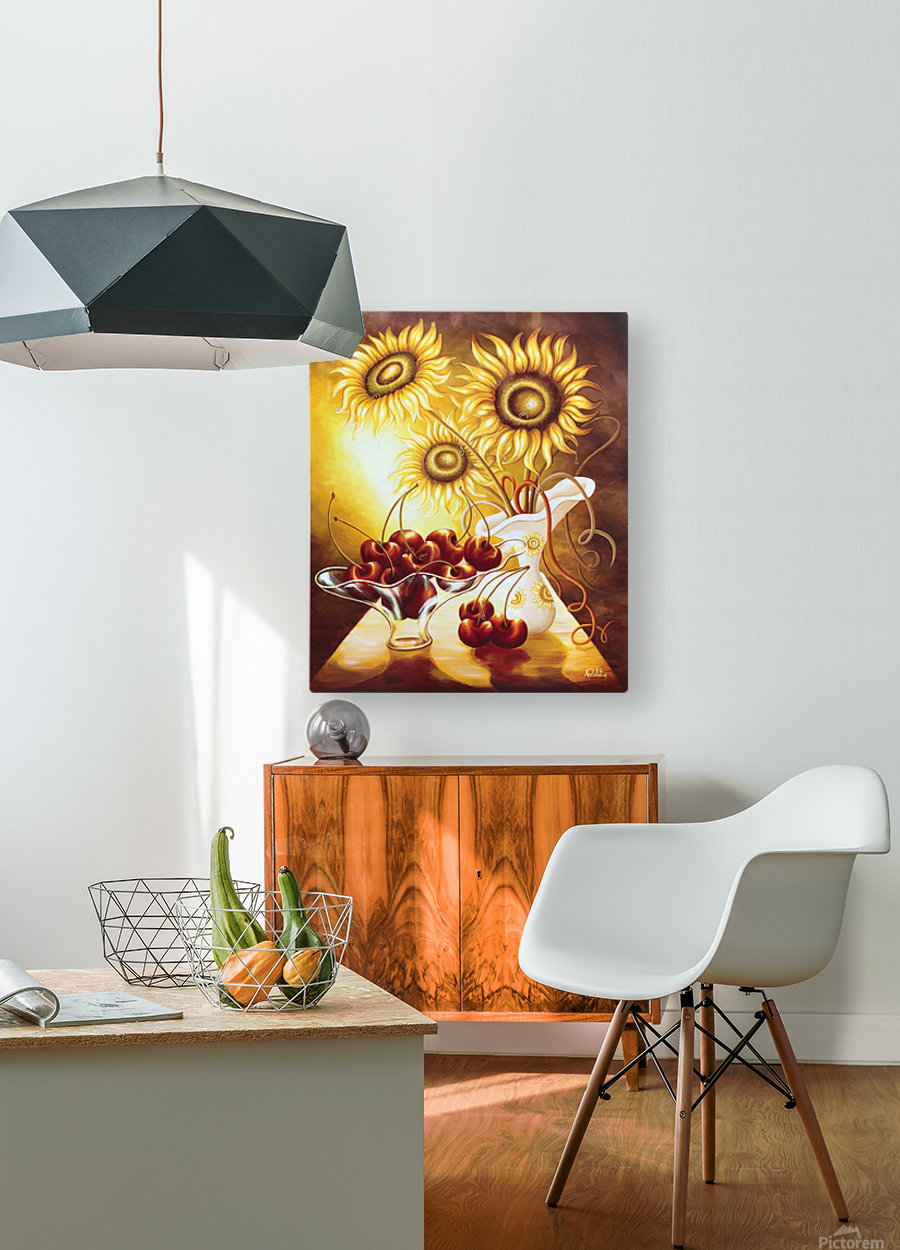You are so sweet  HD Metal print with Floating Frame on Back