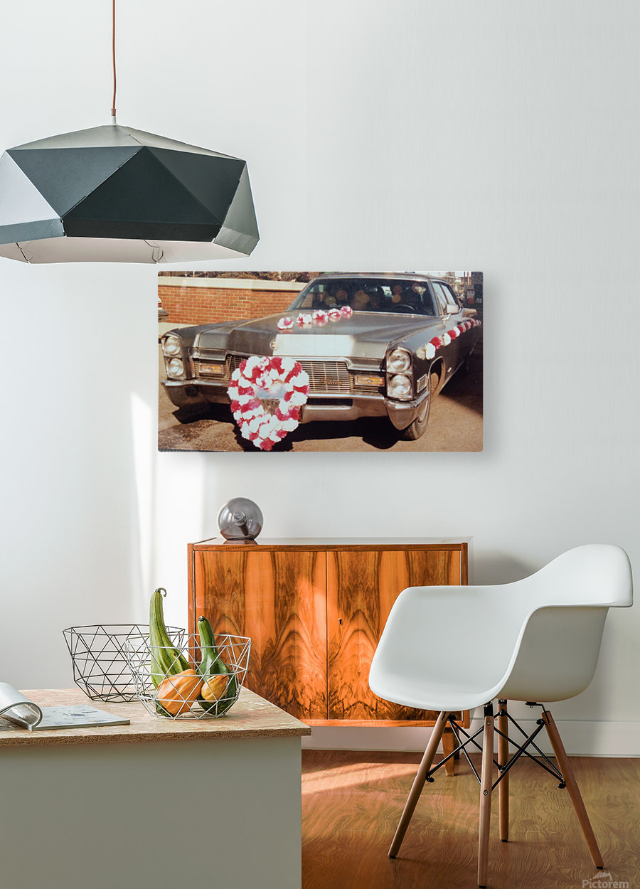 Cadillac 1968  HD Metal print with Floating Frame on Back
