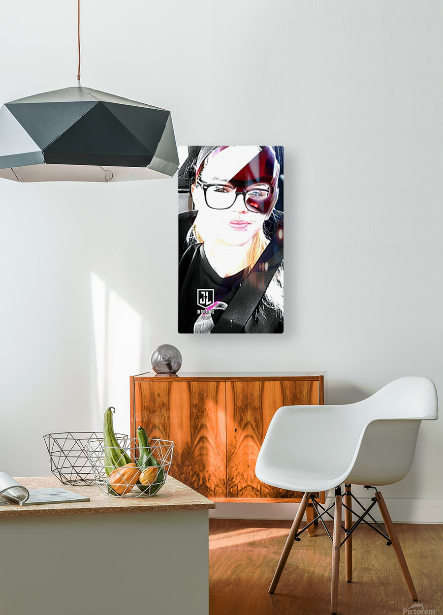 received_615189252193964  HD Metal print with Floating Frame on Back