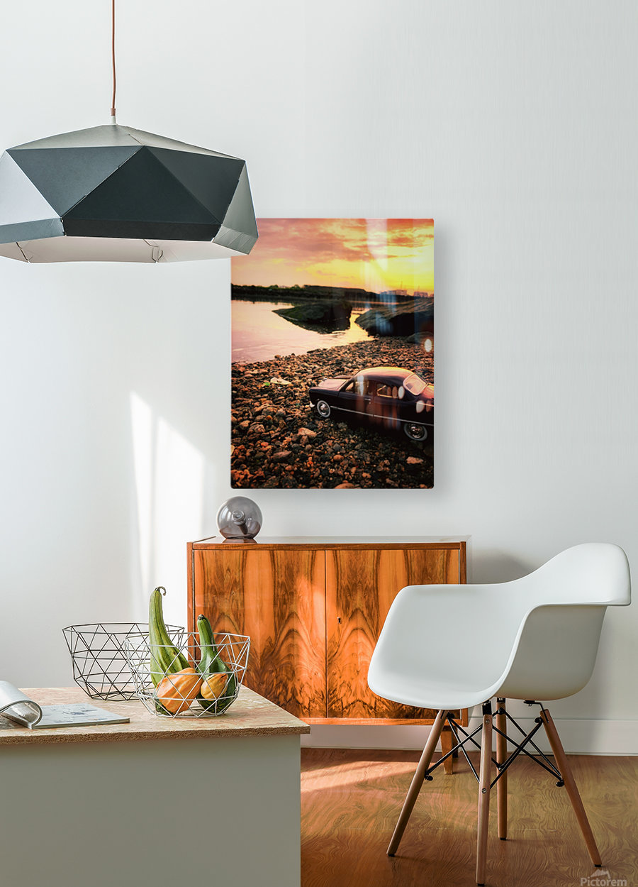 By the rivers of....  HD Metal print with Floating Frame on Back