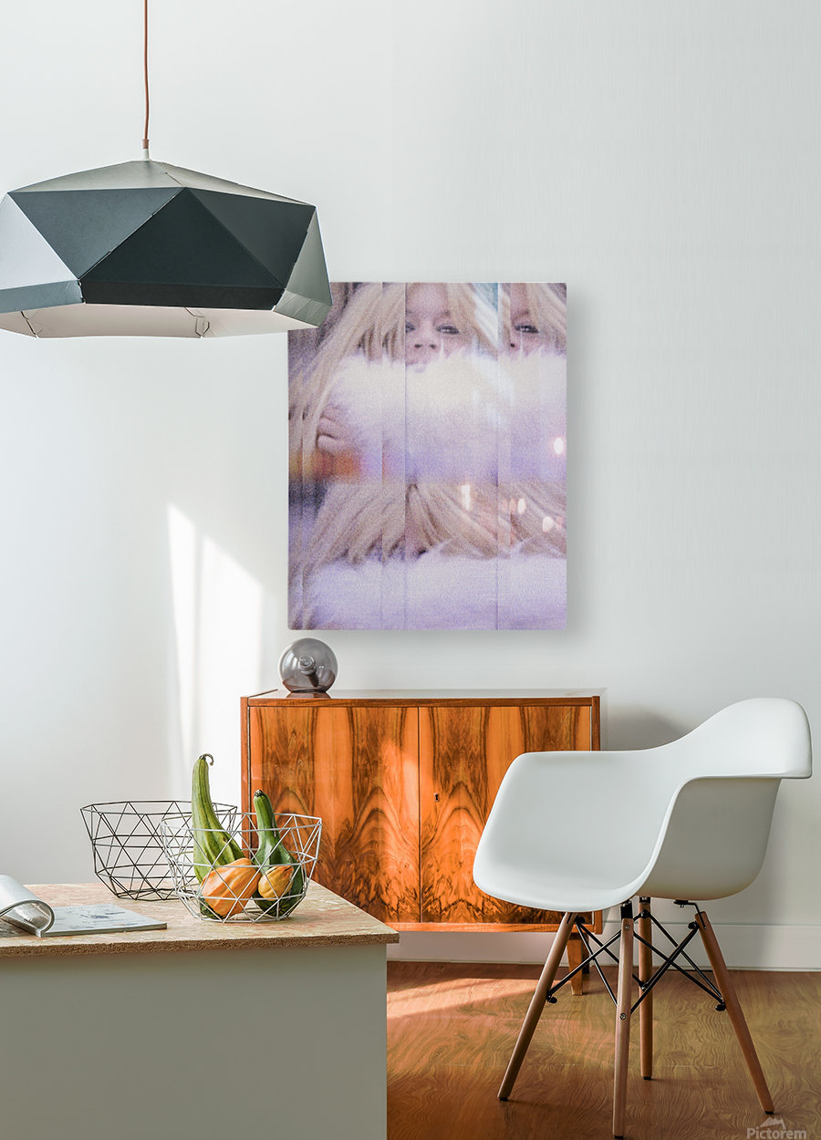 Brigitte  HD Metal print with Floating Frame on Back