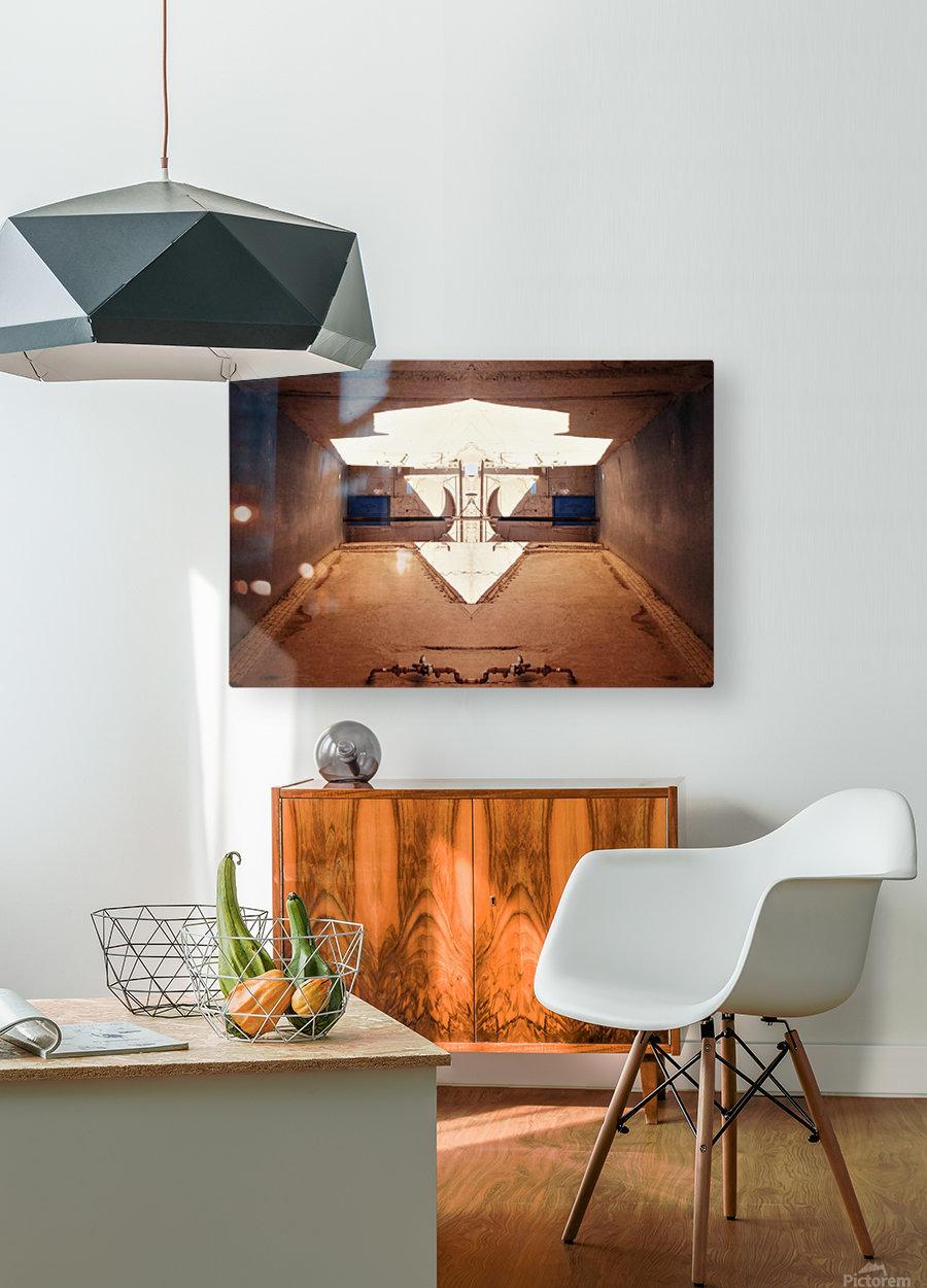 Hijaz   HD Metal print with Floating Frame on Back