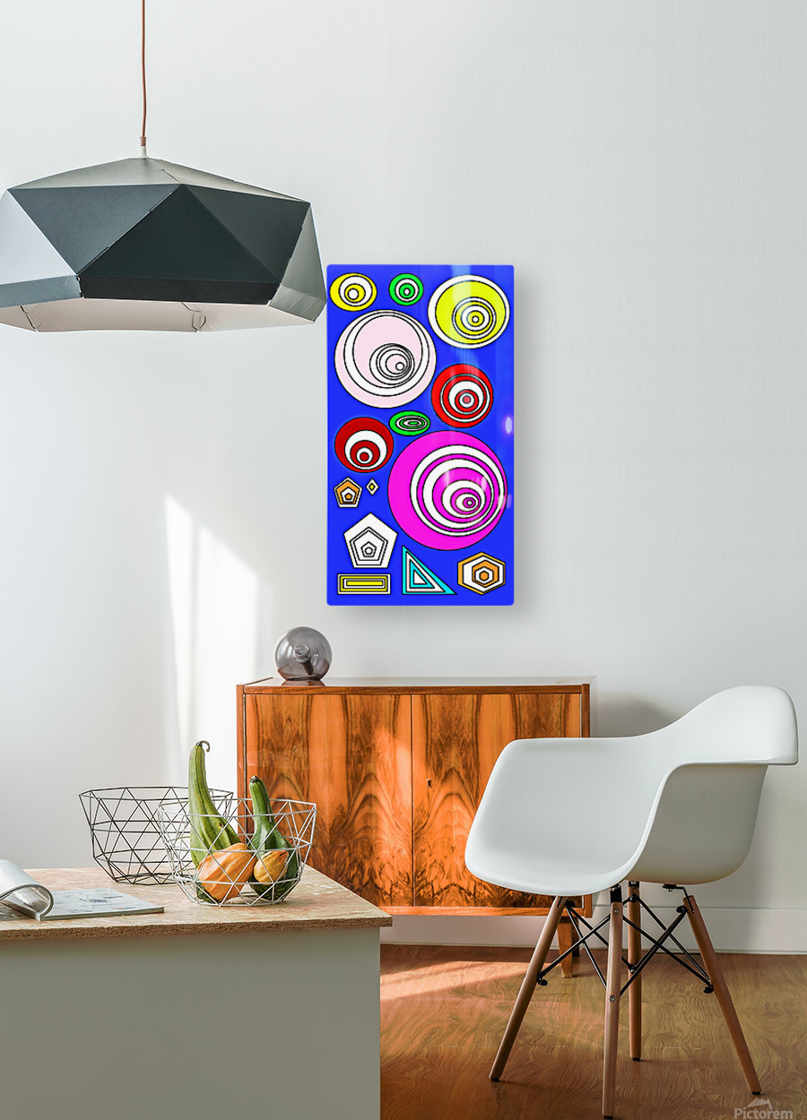 D.A.R.Y.L  HD Metal print with Floating Frame on Back