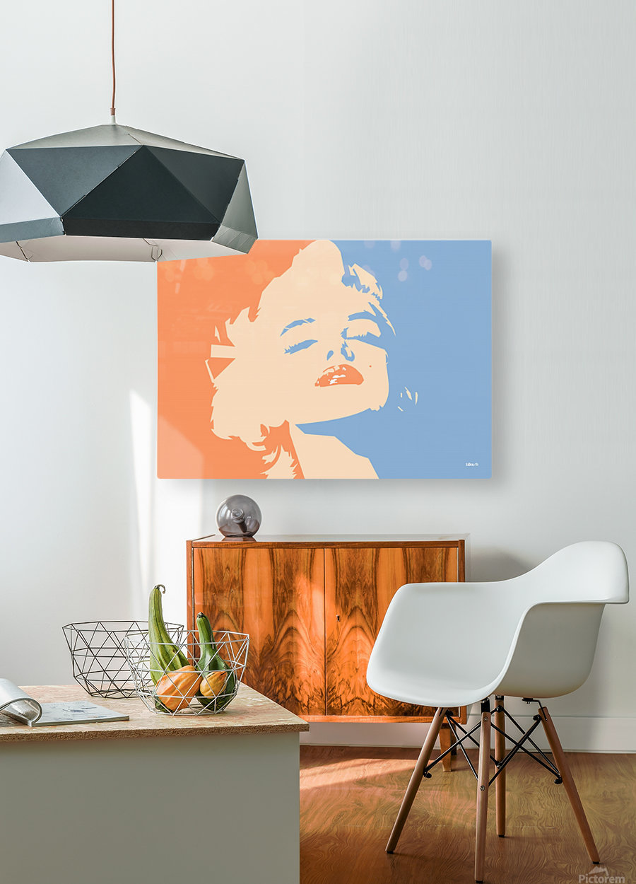 MM  HD Metal print with Floating Frame on Back