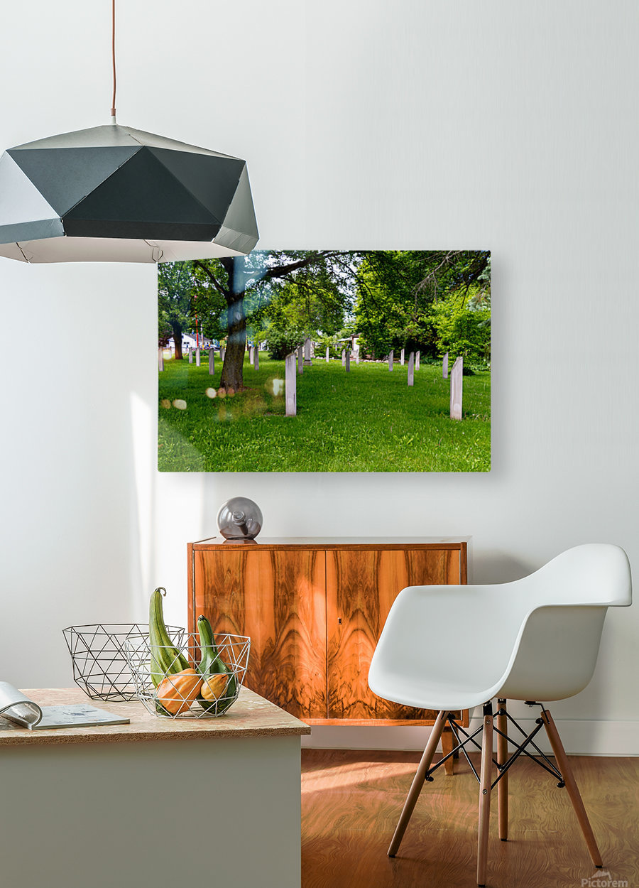 Civil War Memorial 11  HD Metal print with Floating Frame on Back