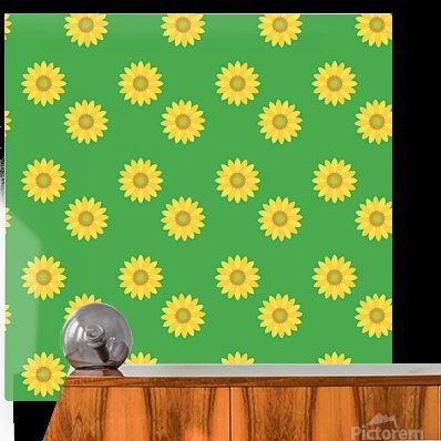Sunflower (38)_1559876660.041  HD Metal print with Floating Frame on Back
