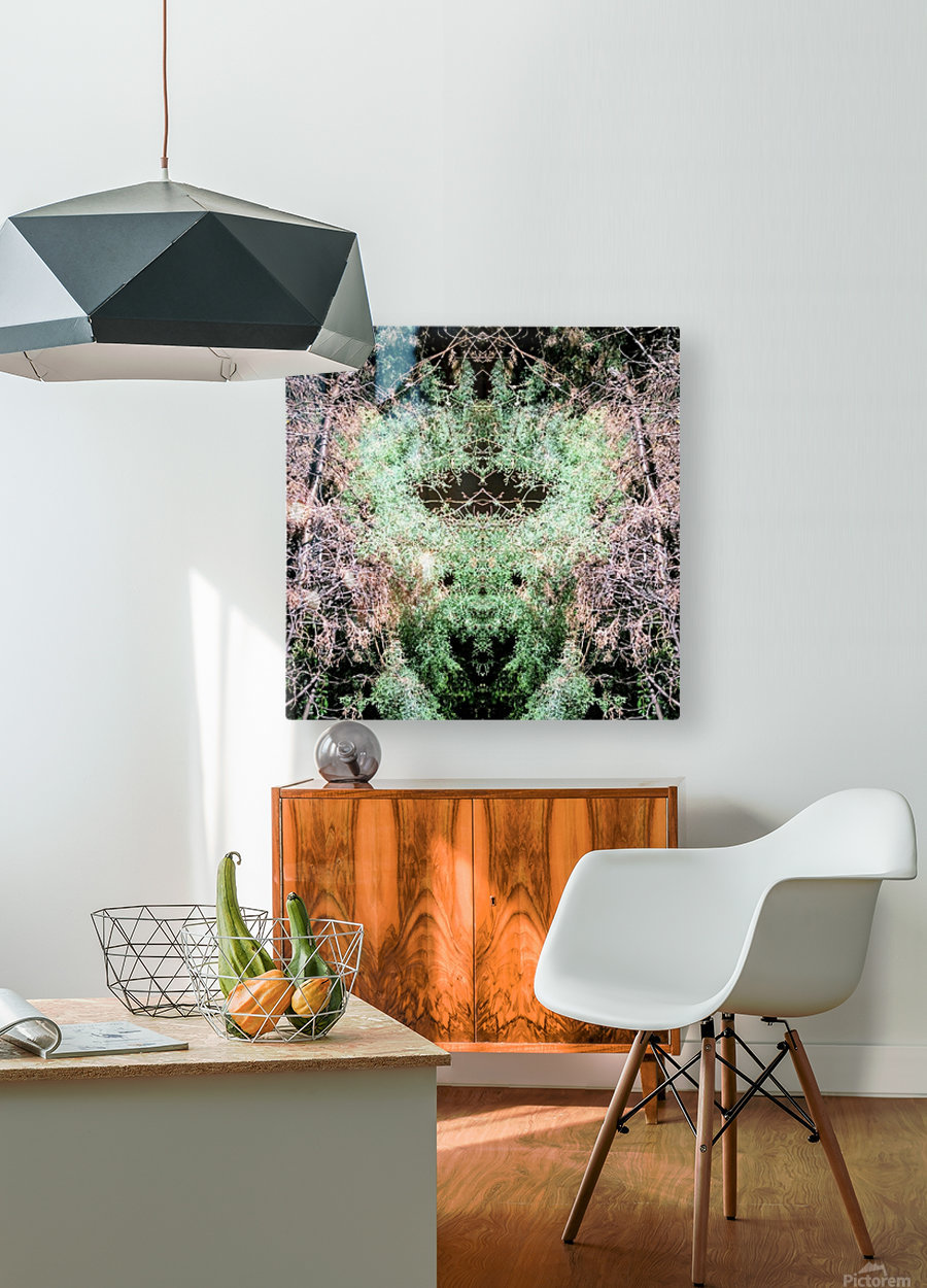 The Child of Green  HD Metal print with Floating Frame on Back