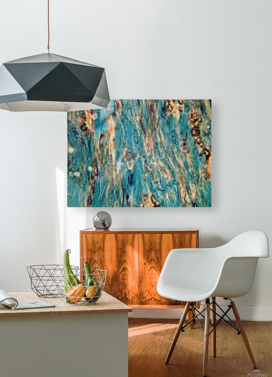 Primordial Sea  HD Metal print with Floating Frame on Back