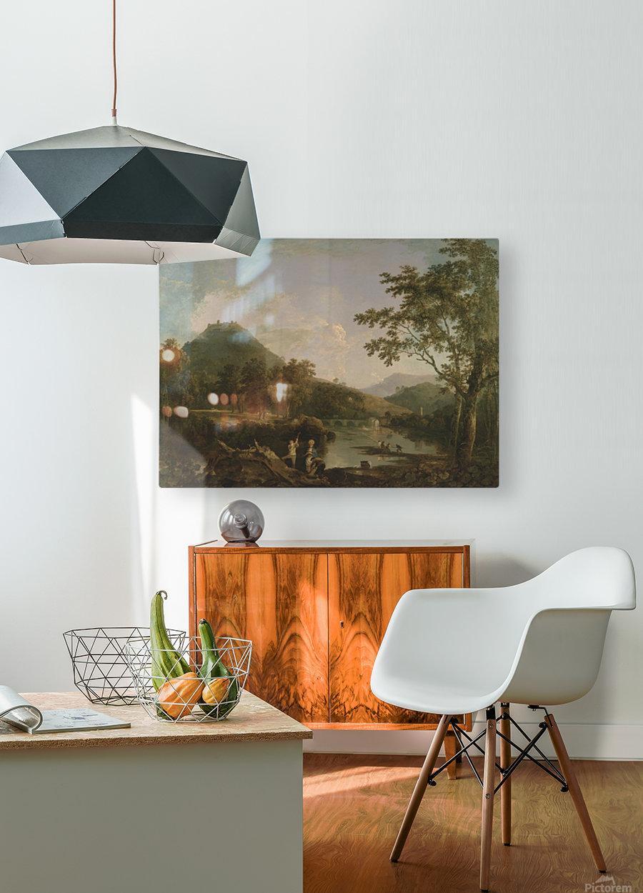 Welsh Landscapes  HD Metal print with Floating Frame on Back