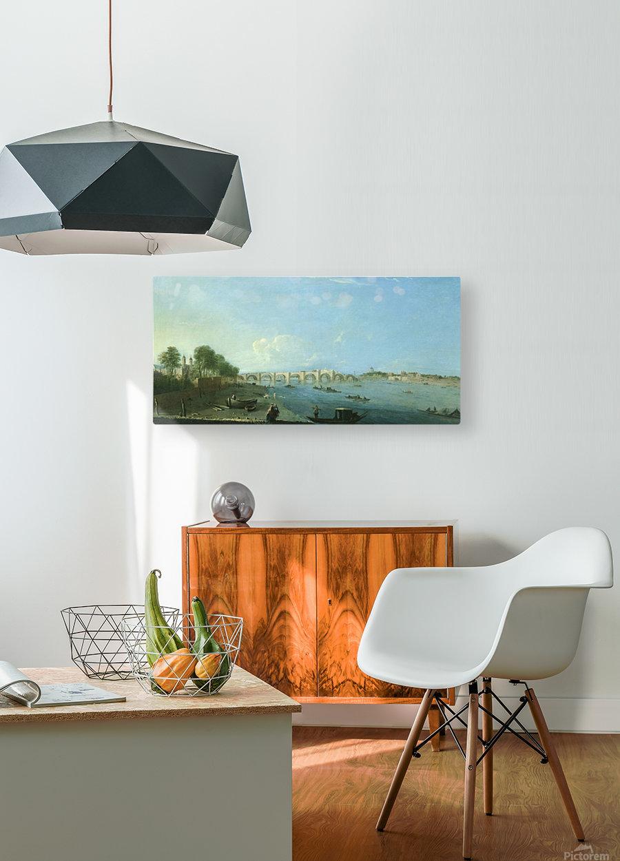 Wesminster Bridge  HD Metal print with Floating Frame on Back