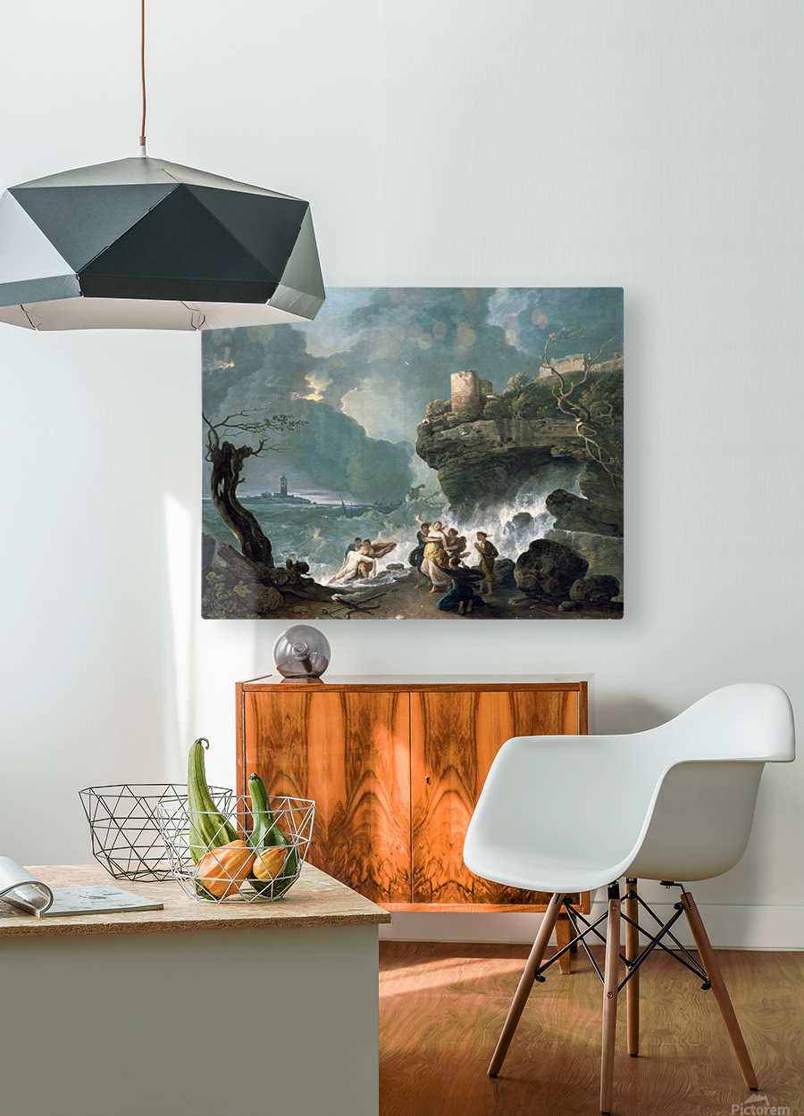 Ceyx and Alcyone  HD Metal print with Floating Frame on Back