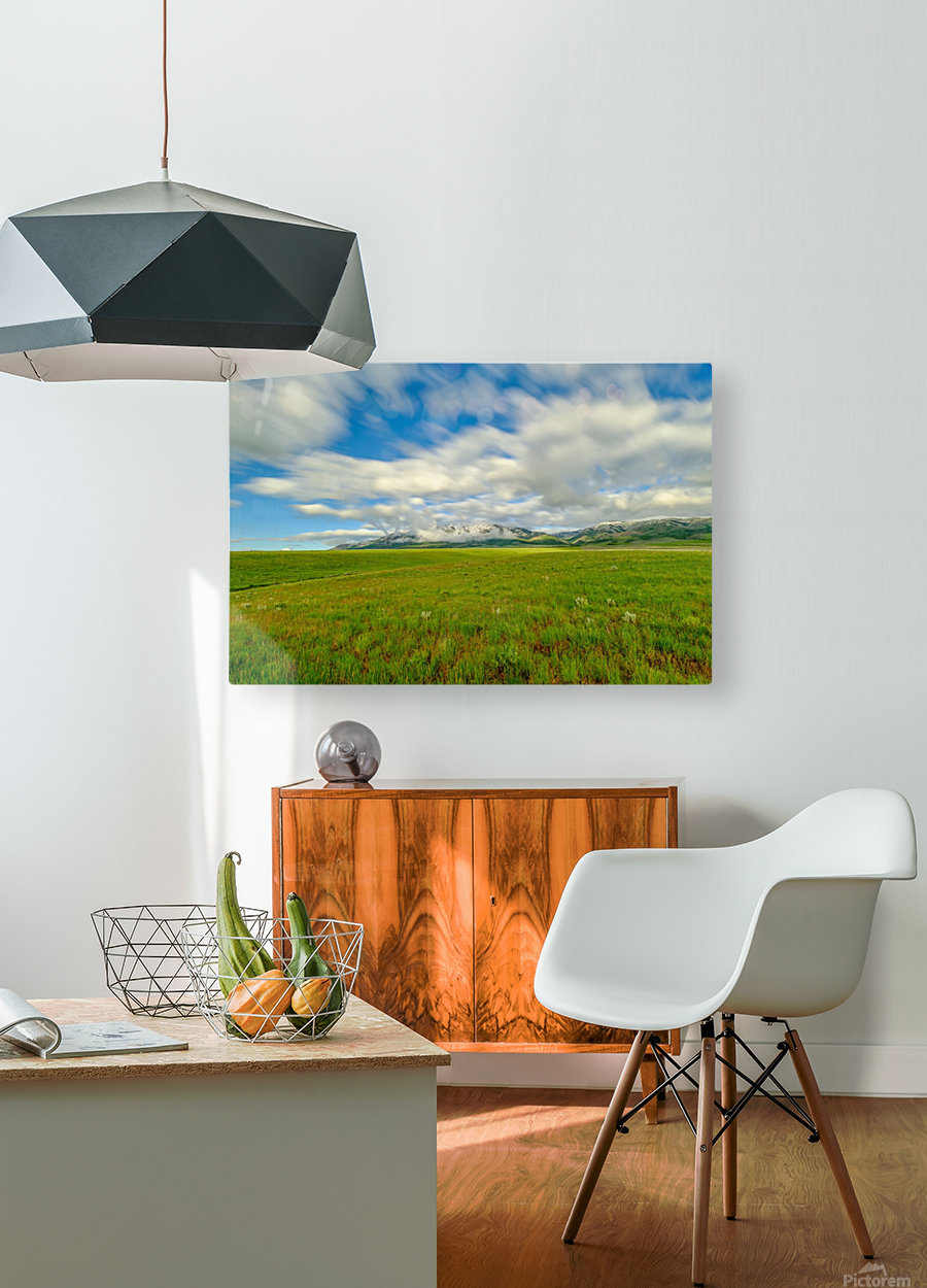 Long Exposure Goodenough Canyon  HD Metal print with Floating Frame on Back