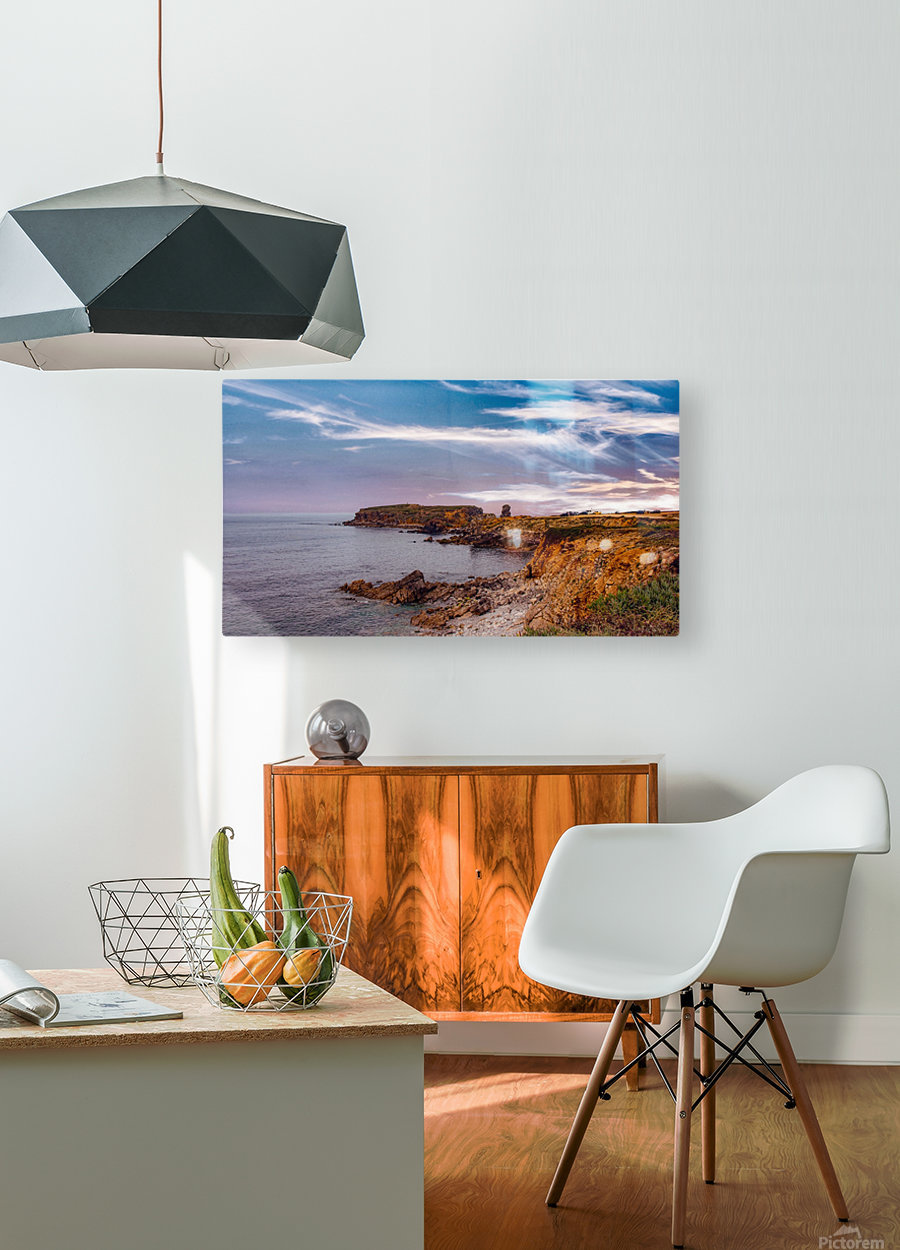 Papoa  HD Metal print with Floating Frame on Back